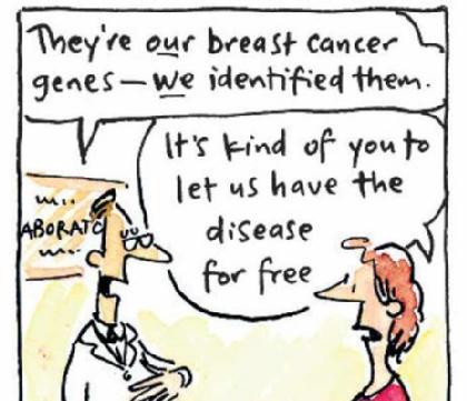 Image result for gene testing cartoon