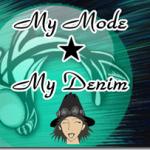 遠い記憶の中の最初のモードはデニムの長ズボン