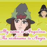 しゃべるアバター セクシー美女アンジェリーナはオリジナルのイラスト