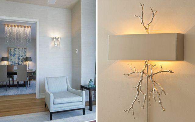 Dekoratif duvar lambalı ev aydınlatması