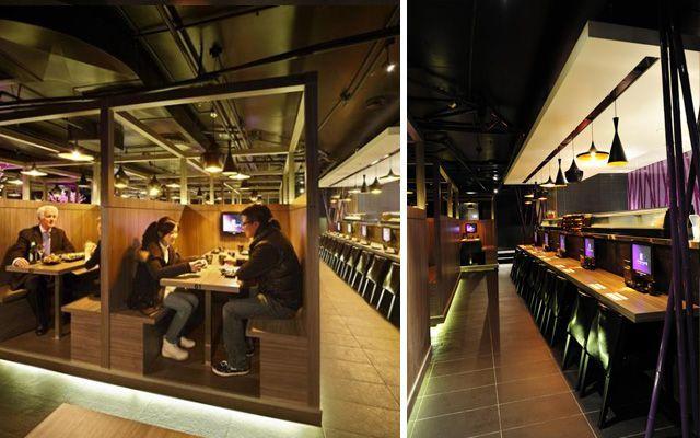 Japon karaoke ve restoran dekoru