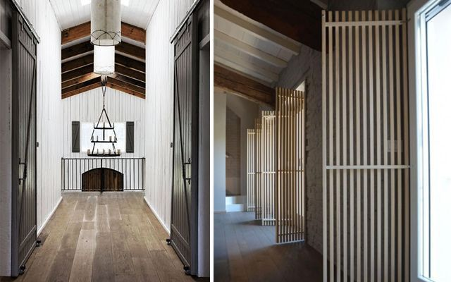 Kapıları vurgulayarak koridorlar nasıl dekore edilir
