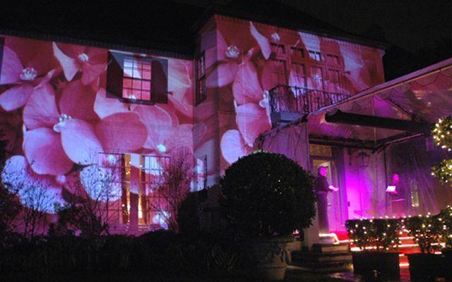Binaların projeksiyonla aydınlatılması