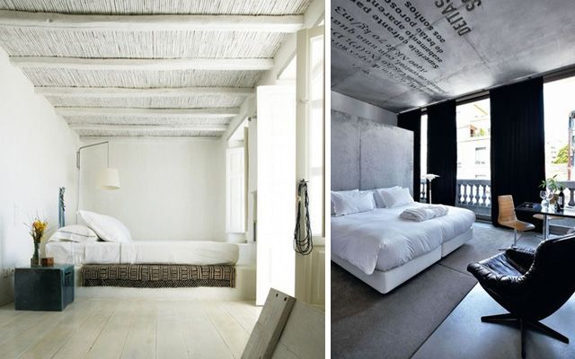Yatak odalarını orijinal tavanlarla dekore etme fikirleri