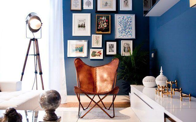 Butterfly sandalyeli iç dekorasyon