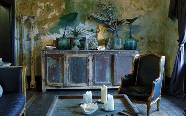 Kirli şık stille ev dekorasyonu