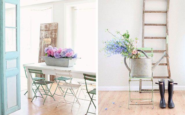 Çiçeklerle süslemek için fikirler