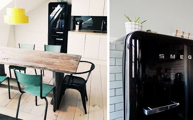 Mutfak dekorasyonunda Smeg buzdolapları