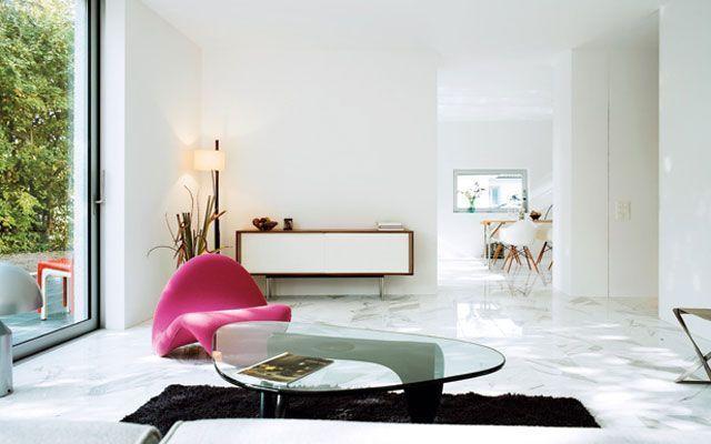 İç tasarımda Noguchi'nin masası