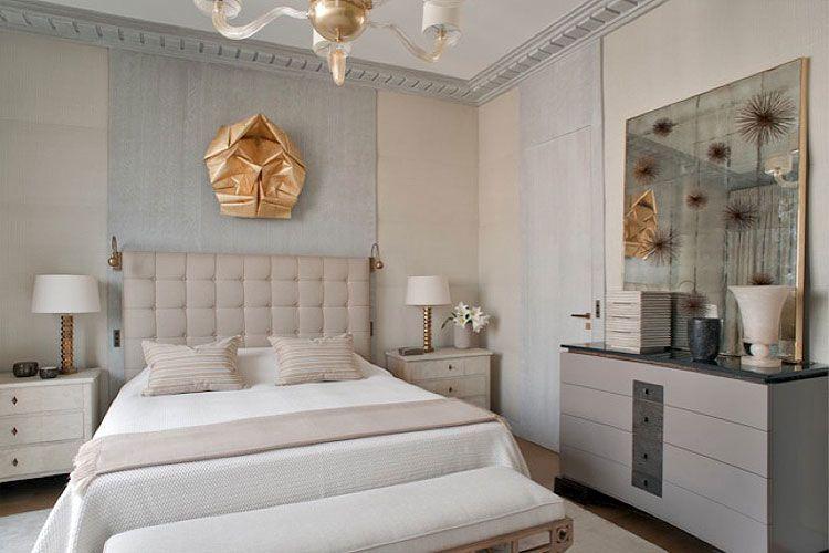 Yatak odası için duvar lambaları