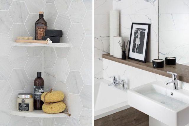 Banyo aksesuarları ile dekore edin