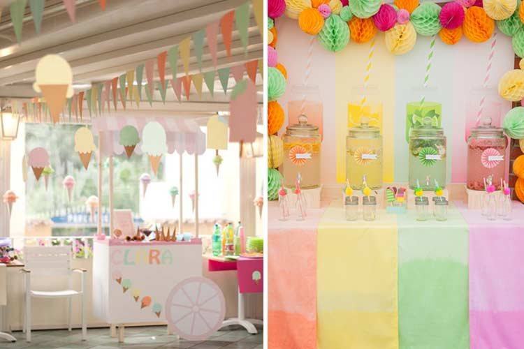 Çocuk partisi dekorasyonu