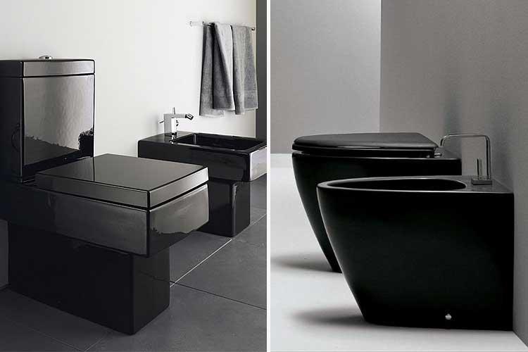 Siyah tuvaletler