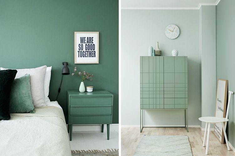Aynı renkte ahşap ve duvarlar