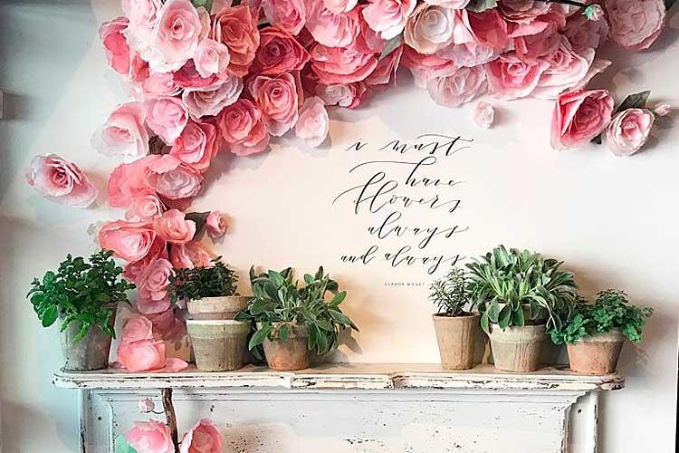 Yapay çiçeklerle nasıl dekore edilir