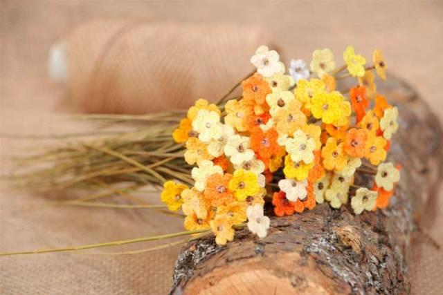 Yapay çiçeklerle süslemek için fikirler