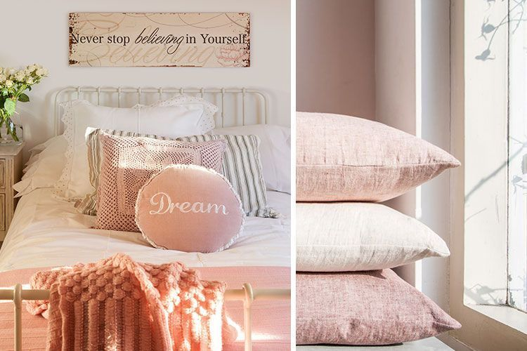 Soluk pembe yatak odaları