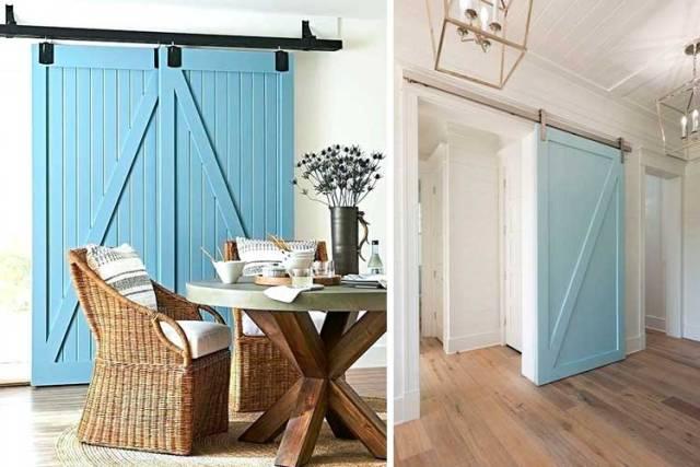 Renkli Ahır Kapıları