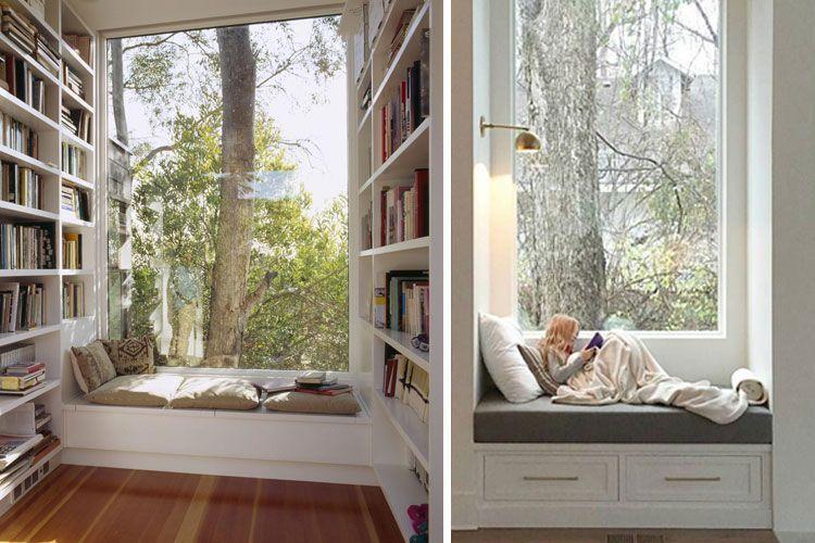 Pencerenin altında raflı tezgah