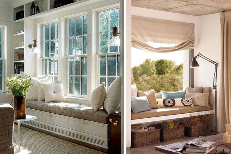 Pencerenin altındaki tezgah