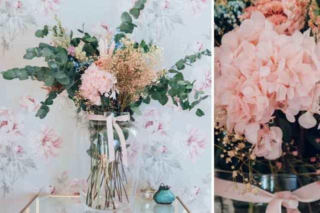 Korunmuş çiçekler