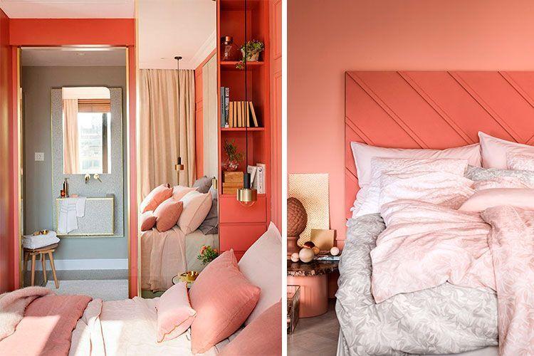 Dormitorios rengi Yaşayan Mercan