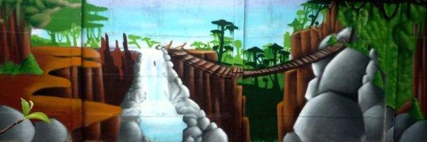 decor cascade graff