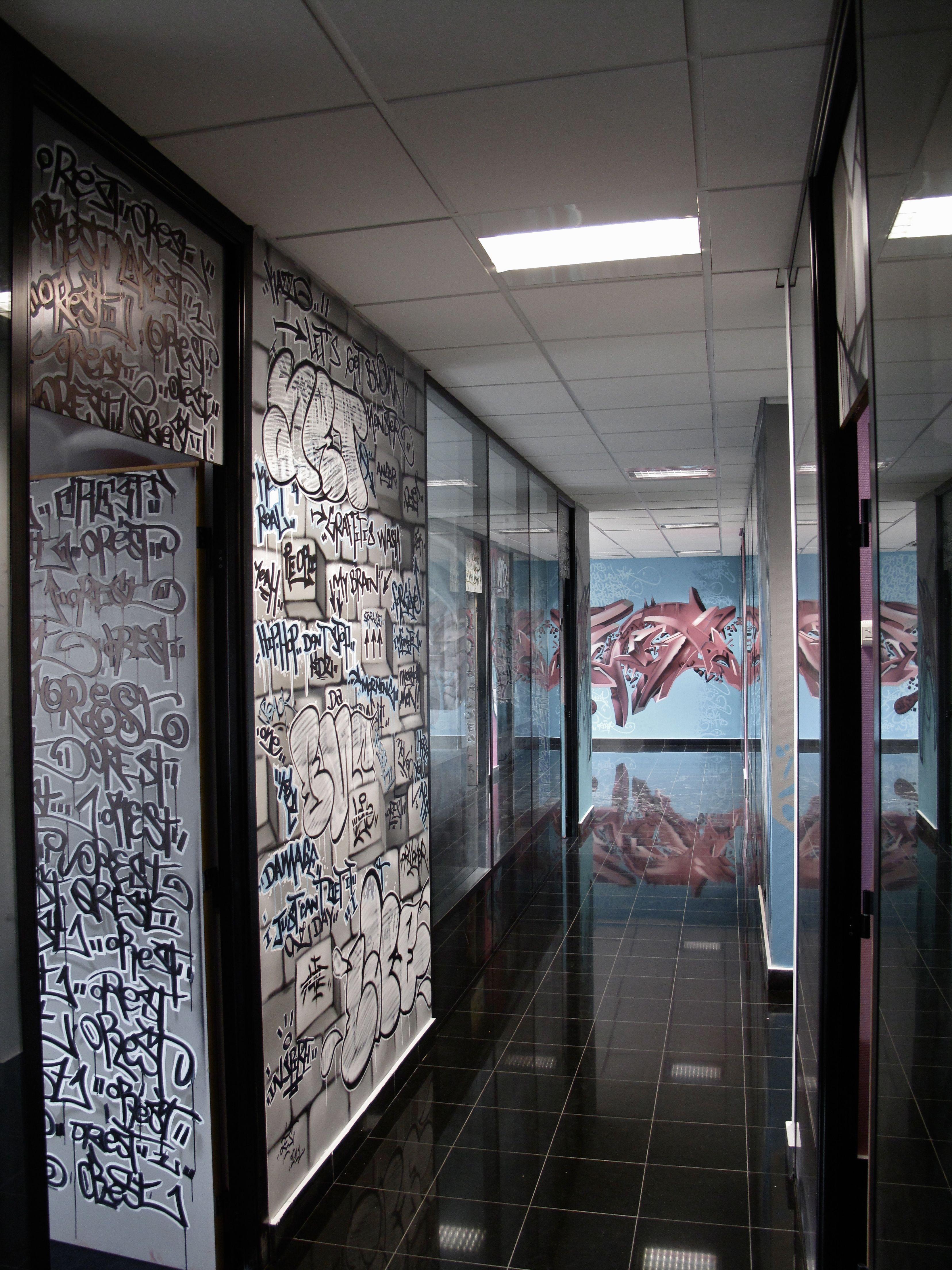 Deco Couloir De Bureau Original DECOGRAFFIK Deco Graff
