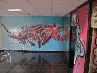 fresque murale personnalisé graffiti