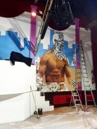 apercu fresque murale ronaldo