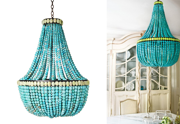 Turquoise Chandeliers 6