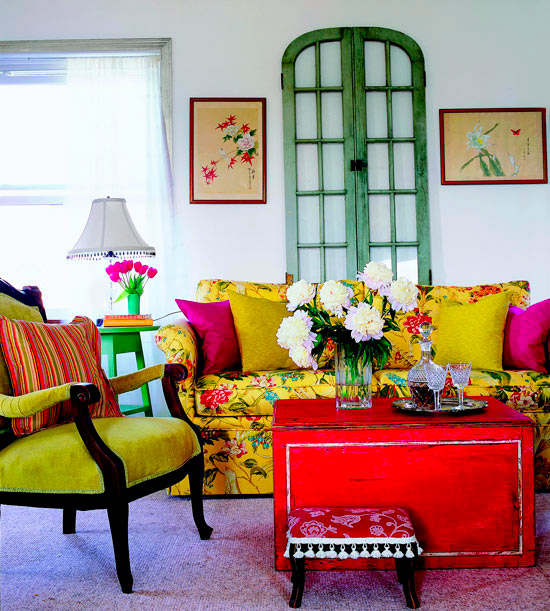 50 Dream Interior Design Ideas for Colorful Living Rooms ... on Colourful Living Room  id=55722