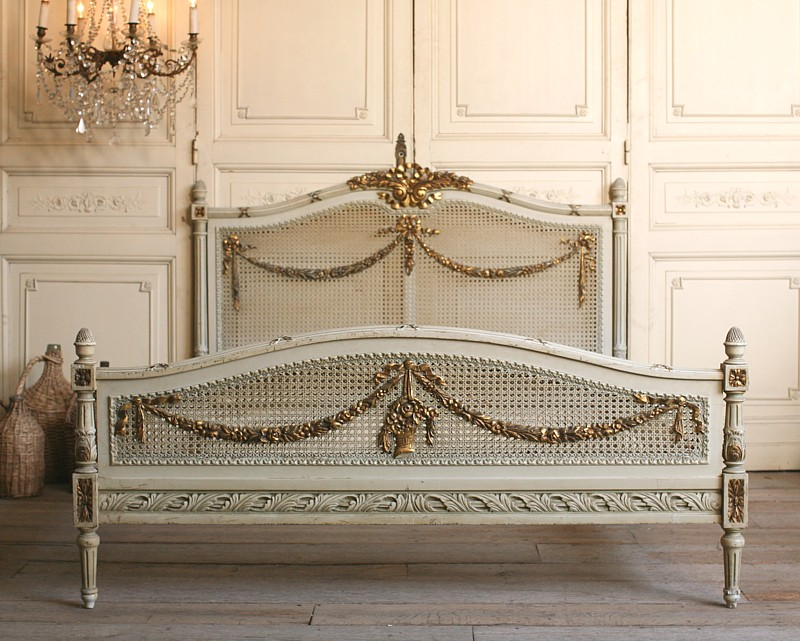 French Bed On Pinterest Painted Cottage Beds And French