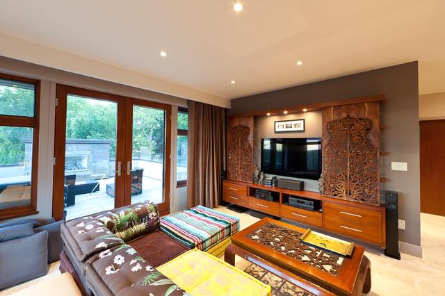 India Inspired Modern Living Room Designs - Decoholic