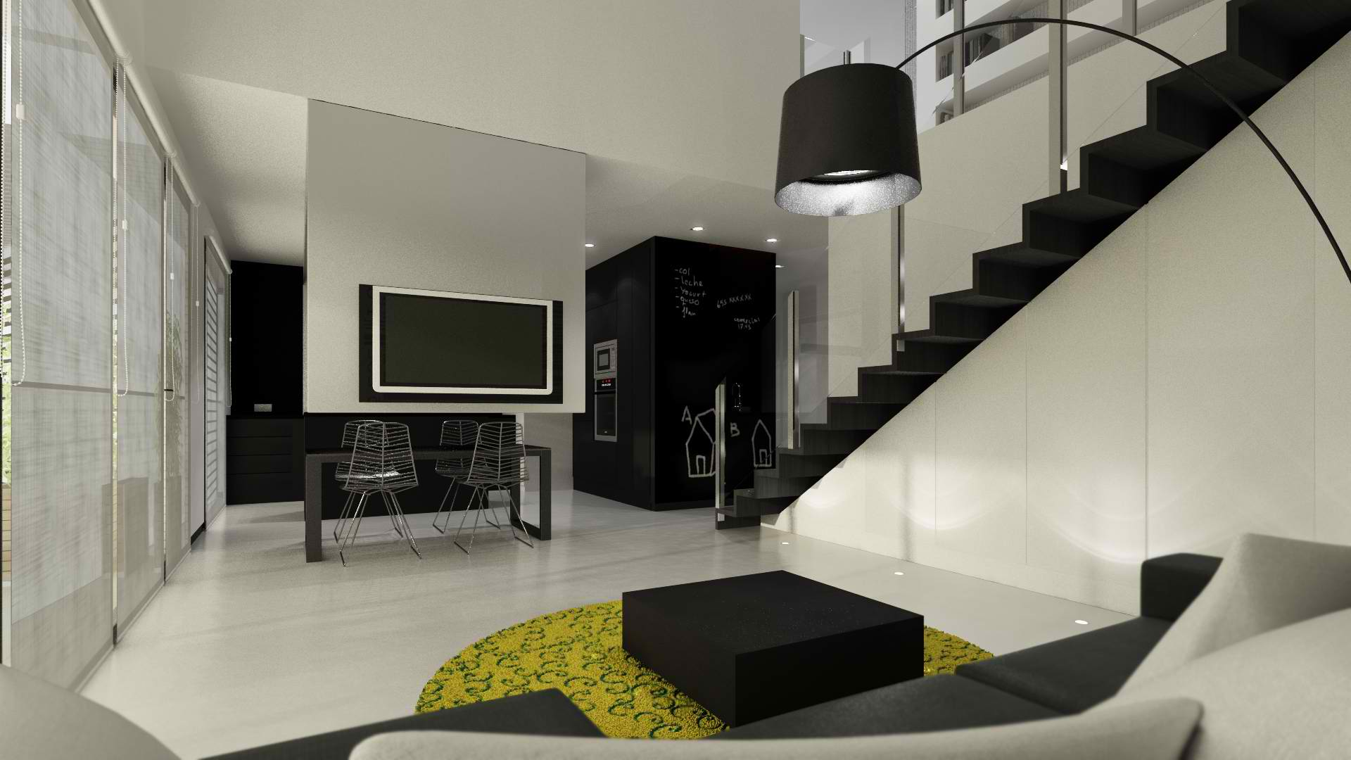 Modern Interior Design By Sussana Cots   Decoholic modern living room design by sussana cots