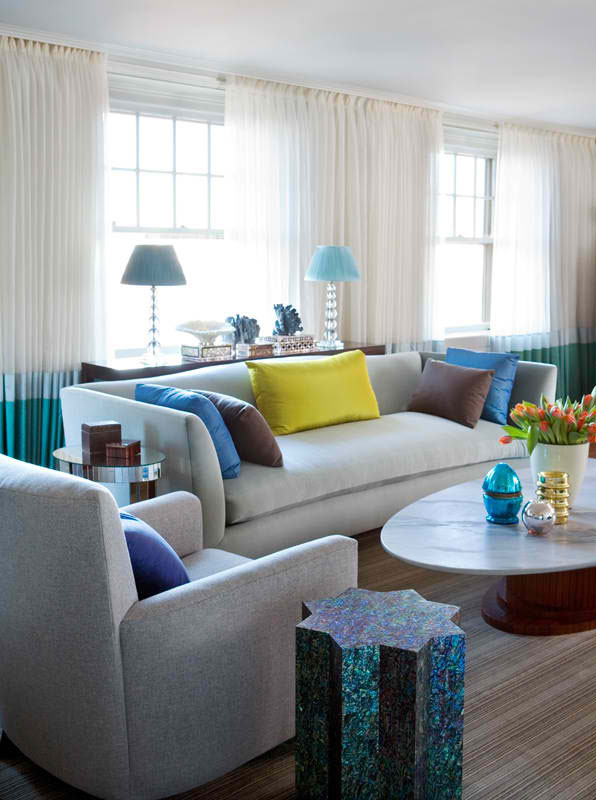26 Amazing Living Room Color Schemes - Decoholic on Colourful Living Room  id=15726