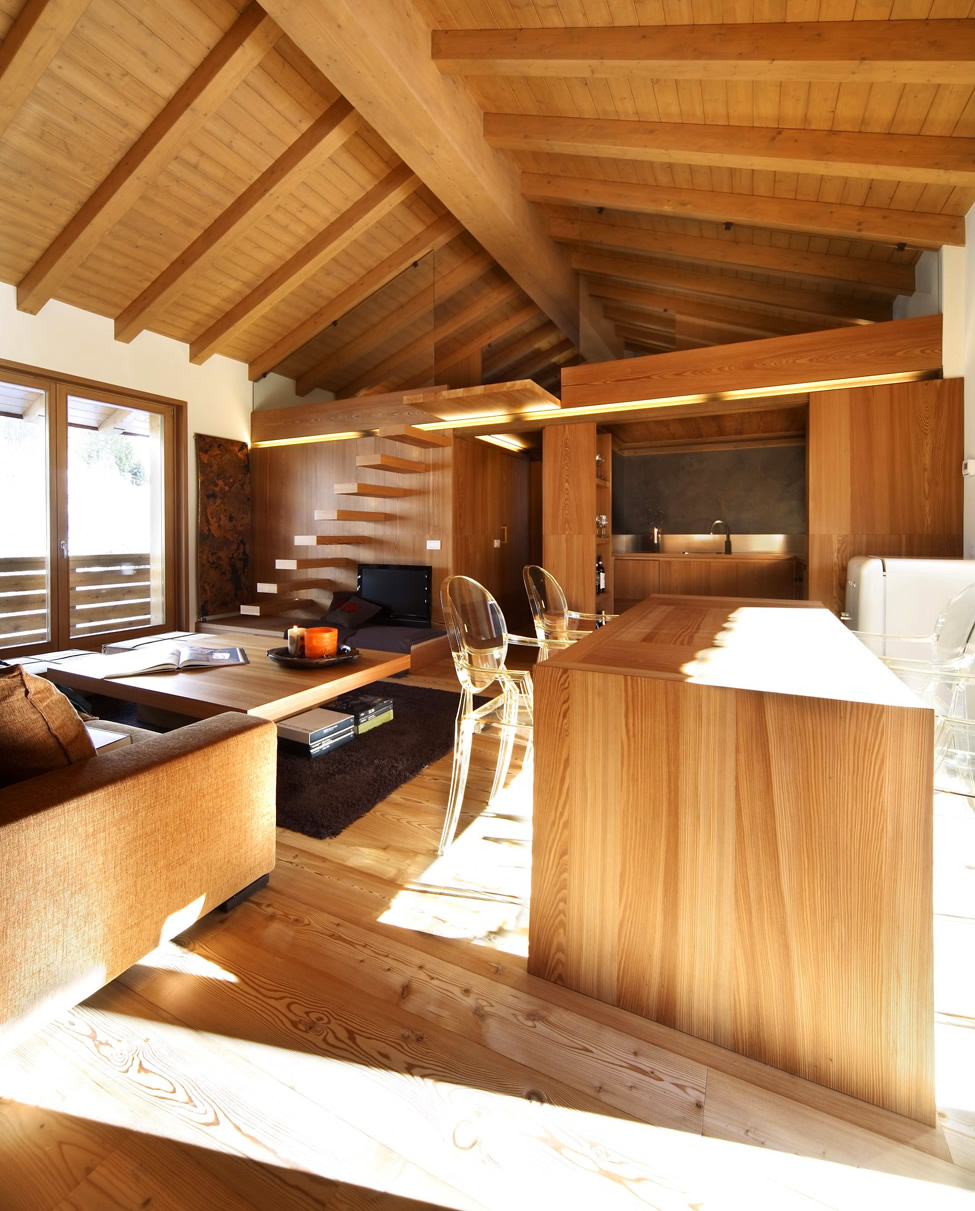 Modern Wood House by Studio Fanetti | Decoholic on Interior:ybeqvfpgwcq= Modern House  id=76823