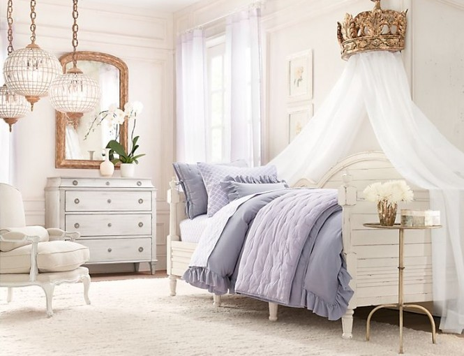 17 Awesome Rustic-Romantic Girls' Room Ideas - Decoholic on Room Decorations For Girls  id=47123