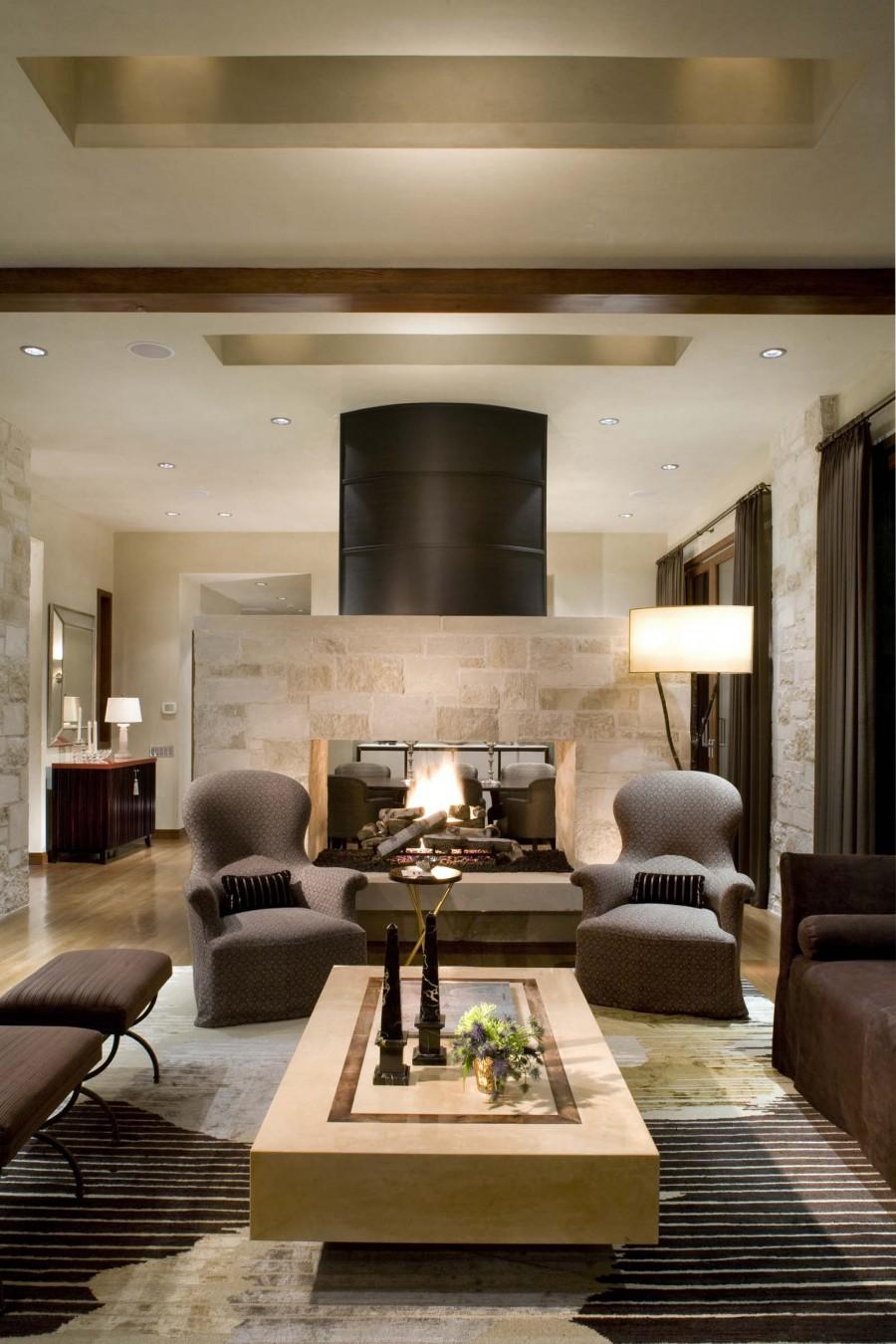16 Fabulous Earth Tones Living Room Designs - Decoholic on Room Decore  id=48868