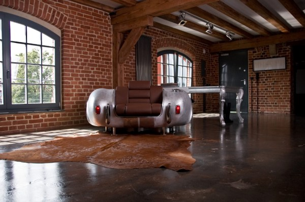 Unique Furniture Collection made by Real Car Parts | Miami ...