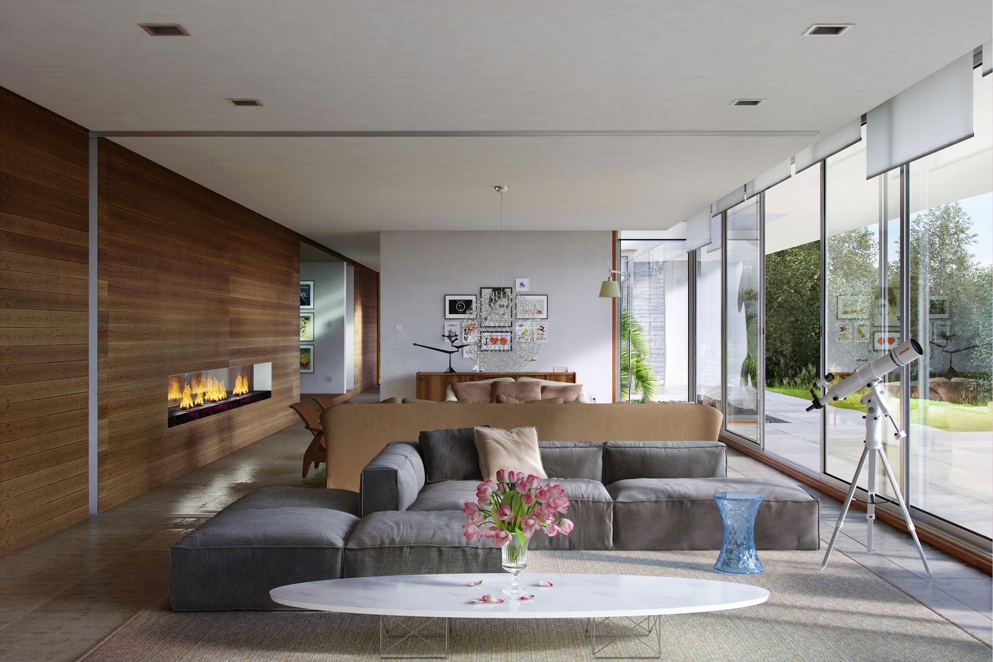 Minimalism: 34 Great Living Room Designs - Decoholic on Minimalist Living Room Design  id=48286