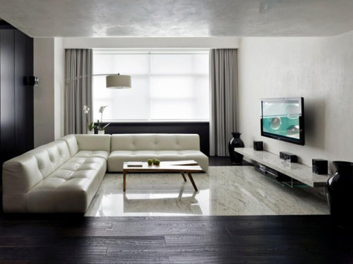 Minimalism: 34 Great Living Room Designs - Decoholic on Minimalist Living Room Design  id=84258