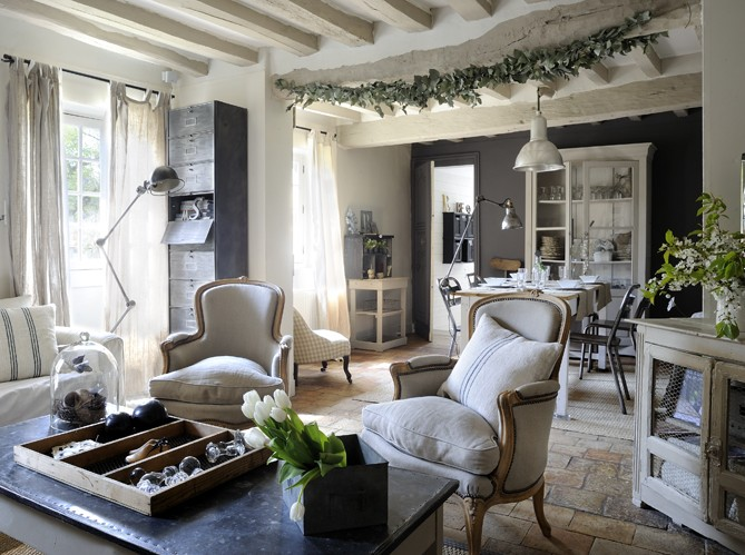 Industrial Country House In France Decoholic