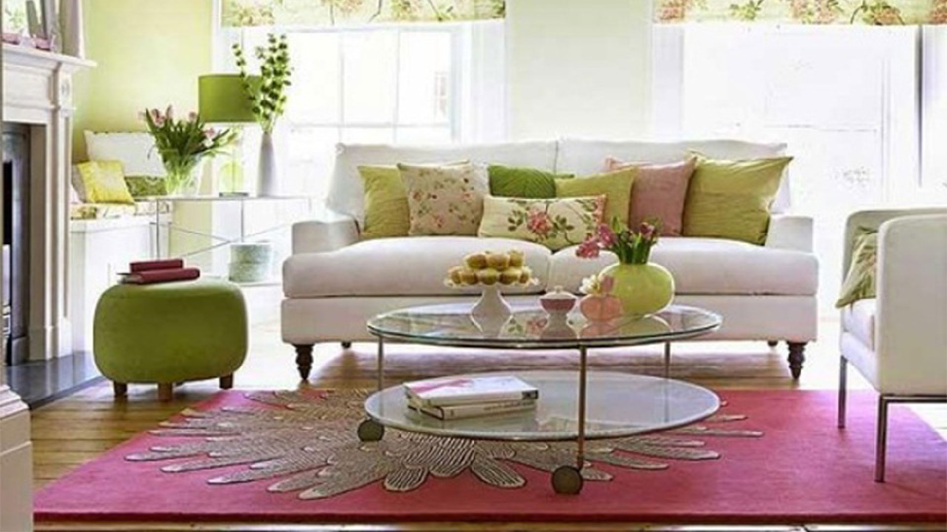 36 Living Room Decorating Ideas That Smells Like Spring ... on Living Decoration Ideas  id=40809
