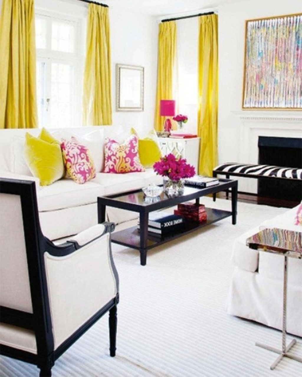 36 Living Room Decorating Ideas That Smells Like Spring ... on Living Room Decor  id=48044