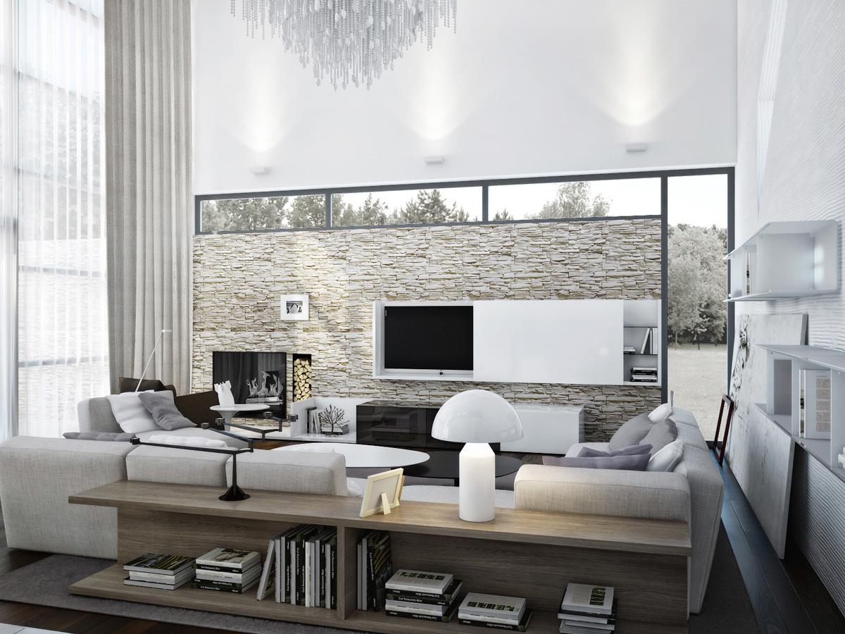 Contemporary Interior by Azovskiy and Pahomova Architects ... on Interior:ybeqvfpgwcq= Modern House  id=22970