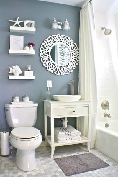 40 Stylish Small Bathroom Design Ideas - Decoholic on Small:e_D8Ihxdoce= Bathroom Ideas  id=12188