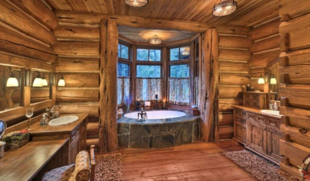 . Rustic Cabin Bathrooms   Home   Garden Improvement Design Collaboration