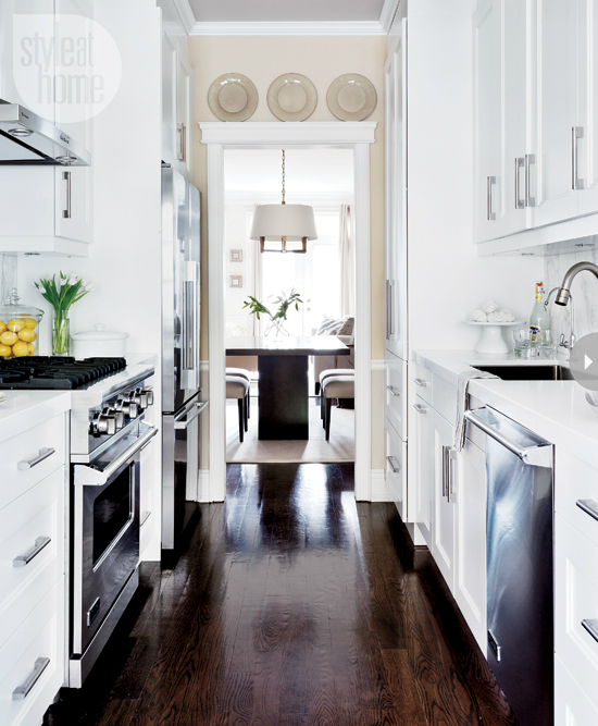 Best Galley Kitchen Layout
