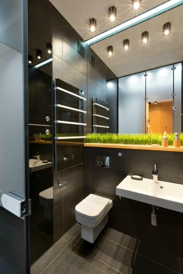 Contemporáneo de 40 metros cuadrados 430 pies cuadrados Apartamento 12
